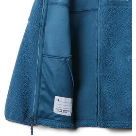 Columbia Rugged RidgeSherpa Full Zip Jacket Boys blue heron